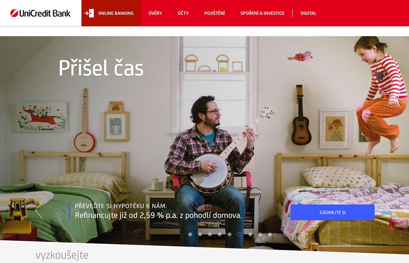 Náhled webových stránek www.unicreditbank.cz/cs/obcane.html#Uvery