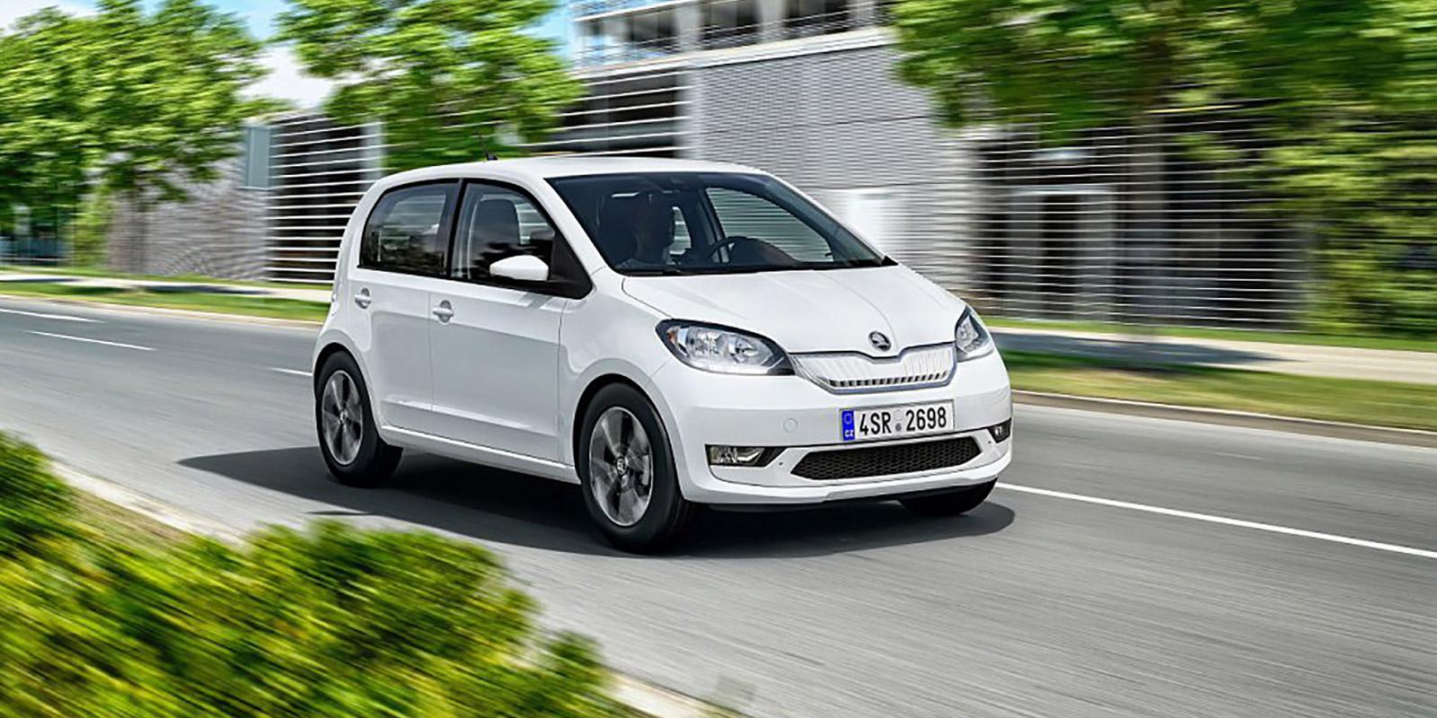 Elektrické verze automobilu Škoda Citigo