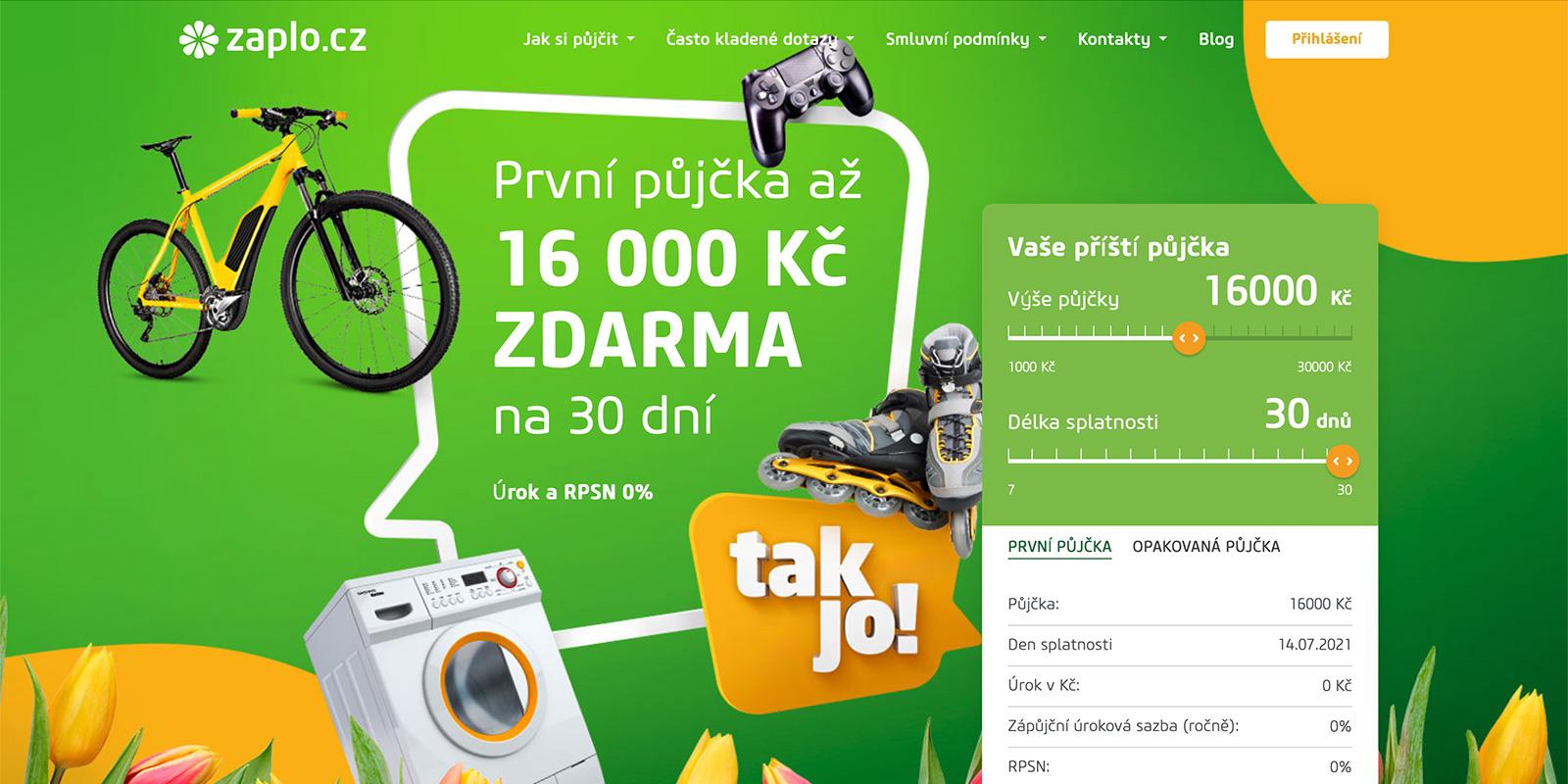 Zaplo.cz je nejpopulárnější rychlá půjčka na českém internetu. Čím je zajímavá?